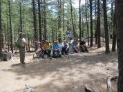 Hikers Taking a Break
